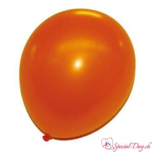 Ballons Orange Nacrés 30cm (50 pcs)