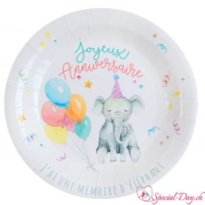 Assiettes Zoo Party (10 pcs)