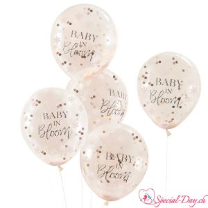 Baby In Bloom Ballons (5Stk)