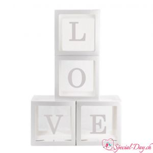 Boites LOVE (4pcs)