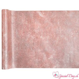 Chemin de table Fanon Metallisé - Rose Gold (5m)