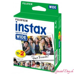 Film Instax Wide (pack 20 photos)