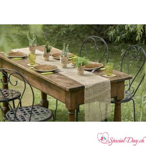 Chemin de table en Jute Naturelle